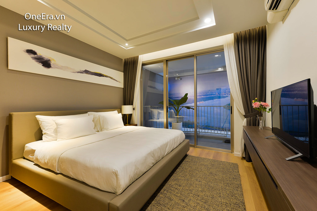 giường view ban công đẹp