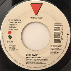 KEITH SWEAT:MAKE YOU SWEAT(LABEL SIDE-A)
