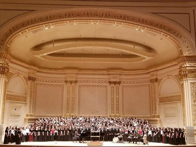 PHS Choir New York trip 2019