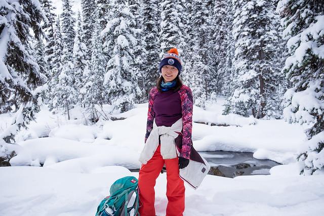 Snowshoeing - Rawson Lake - Jan 2019-14