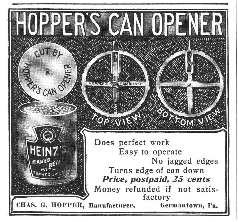Hopper's Can Opener 1900