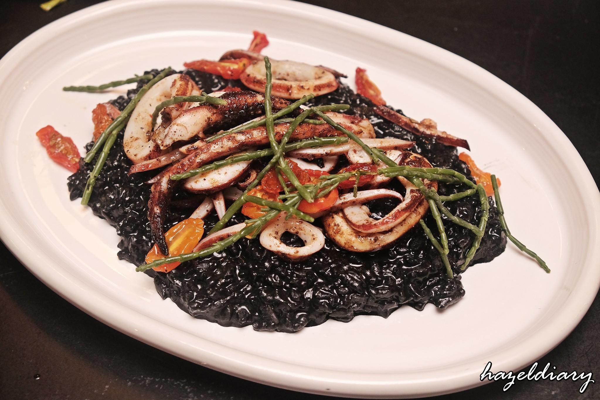 The Botanic Raffles City Shopping Mall-Squid Ink Rice