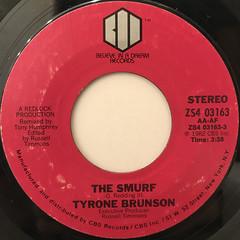 TYRONE BRUNSON:THE SMURF(LABEL SIDE-A)