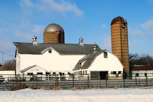 Farm in Union Grove, Wisconsin