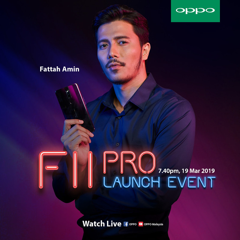 The OPPO F11 Pro To Dazzle Fans with Fattah Amin As F11 Pro Ambassador