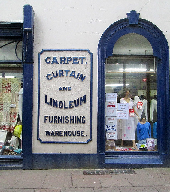 Penrith Old Style Shop Lettering