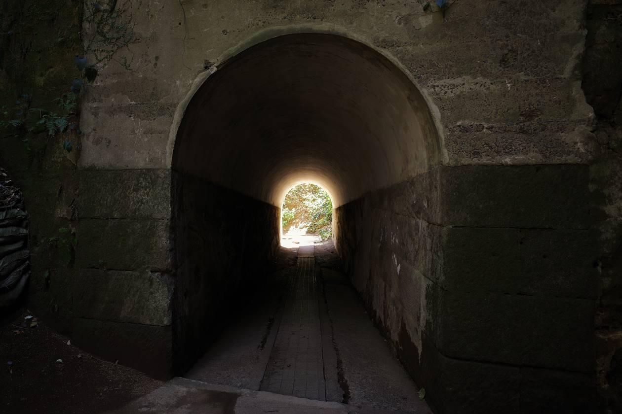 猿島・千と千尋の神隠しのトンネル