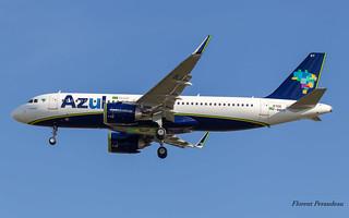 F-WWDH // PR-YRY Azul Linhas Aéreas Brasileiras Airbus A320-251N MSN 8705