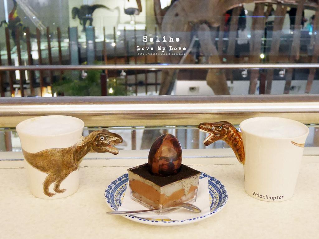 台北車站捷運站附近好玩親子恐龍主題餐廳便宜咖啡廳 (6)