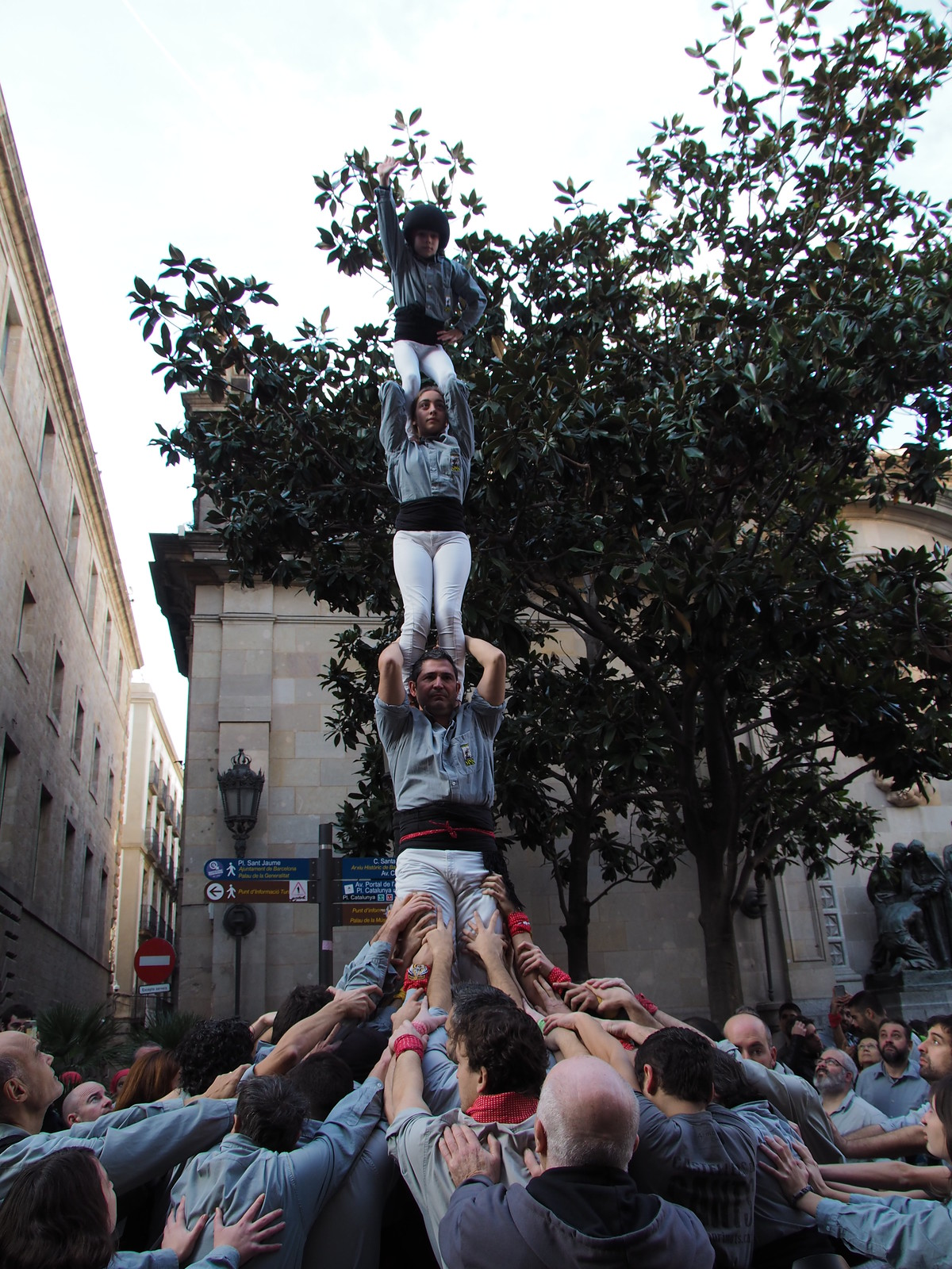Diada de Santa Eulàlia, Barcelona 10 de Febrer de 2019