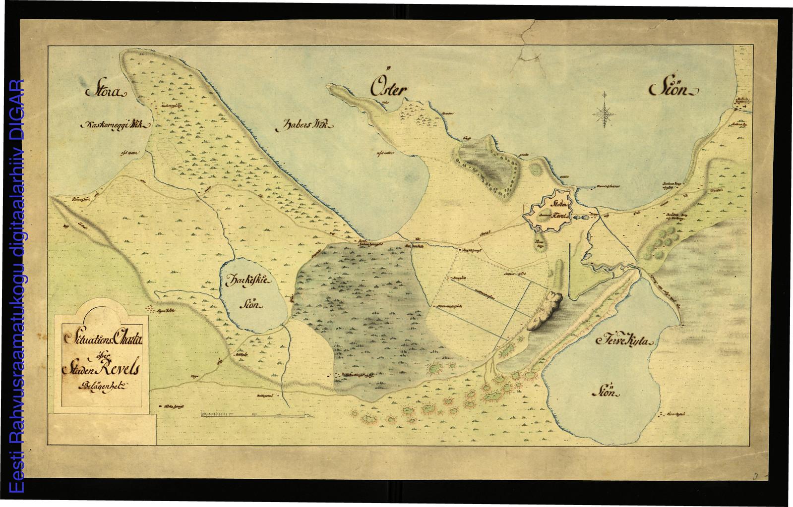 1680. План Ревеля