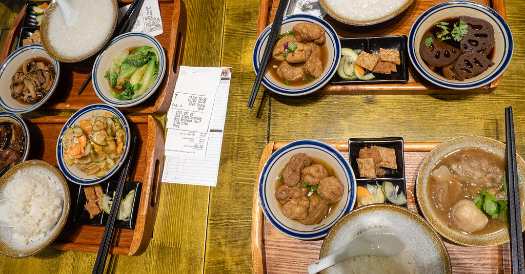 Our dinner at House of Pok (小猪猪) Jaya One