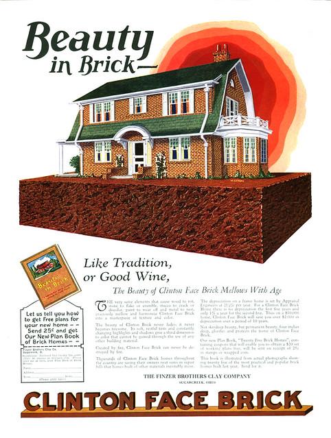 Clinton Face Brick, 1927