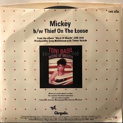TONI BASIL:MICKEY(JACKET B)