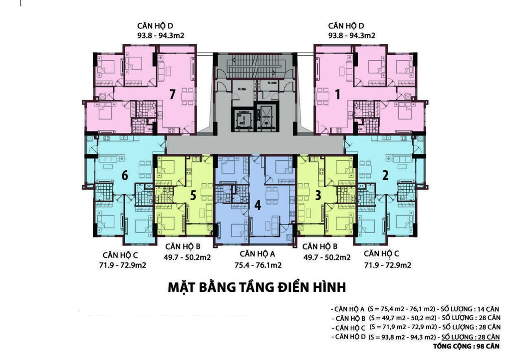 thiết kế Raemian Đông Thuận