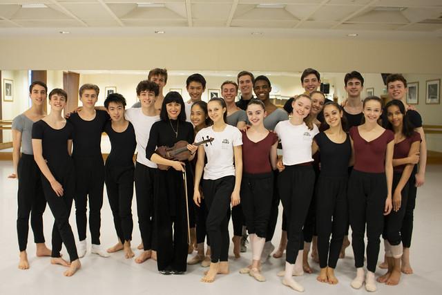 1st Year choreographic sharing