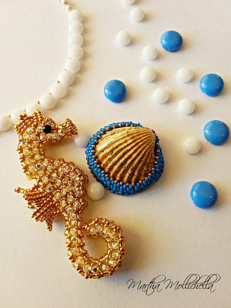 Martha Mollichella i gioielli del mare cavalluccio marino Luis