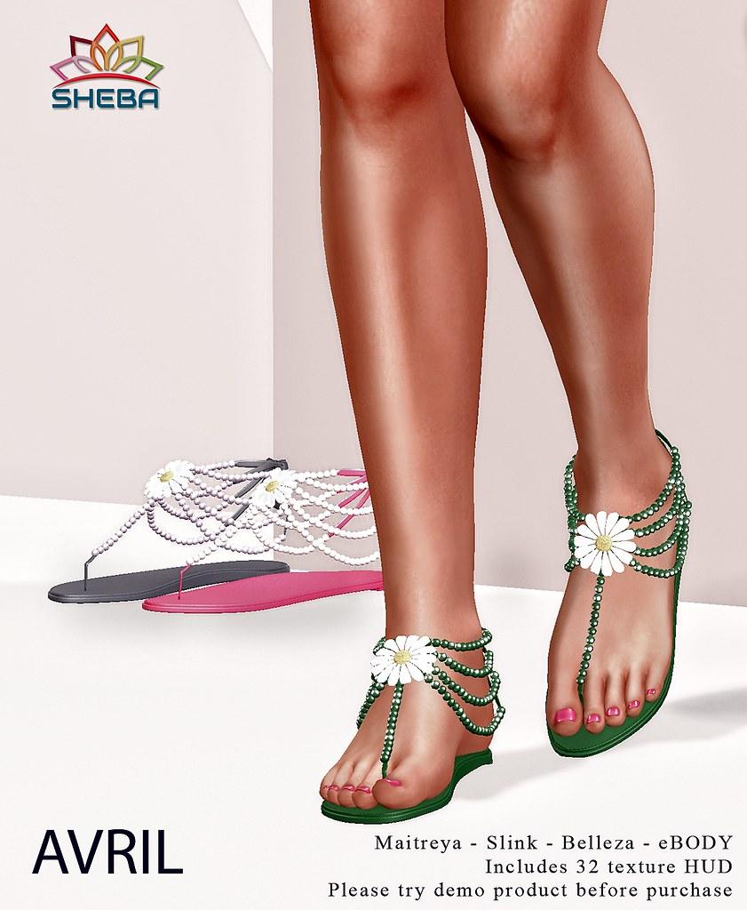 [Sheba] Avril sandals - TeleportHub.com Live!