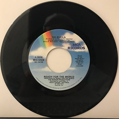 READY FOR THE WORLD:OH SHEILA(RECORD SIDE-A)