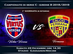Virtus Verona - Fermana 0-1 FINALE