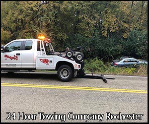 24 Hour Towing Rochester | Virgil's Auto Repair and Towing