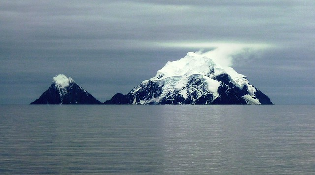 Snow Capped Island Mountains, Panasonic DMC-FZ35