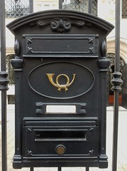 Letterbox with Horn