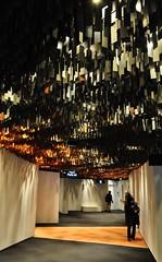 Dans les couloirs, Philharmonie de Paris (2009-2015), quartier de Pont de Flandres, XIXe, Paris, France.