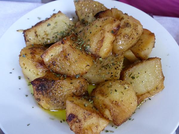 pommes de terre à l'origan
