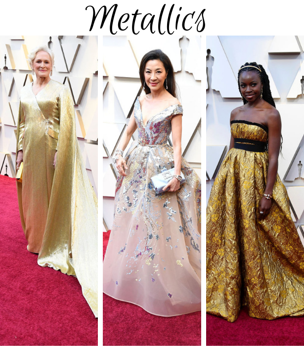 Oscars 2019 Metallic