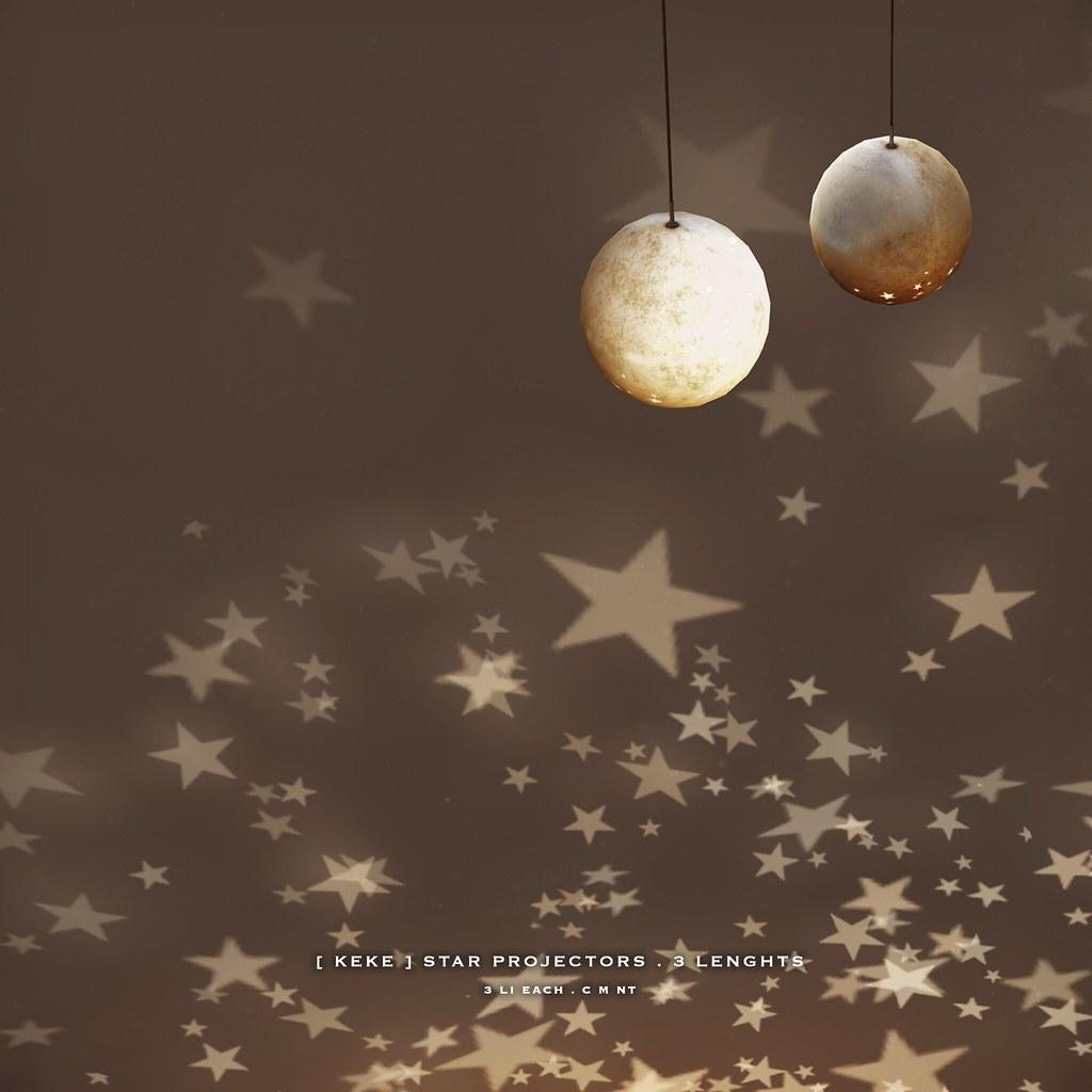 [ keke ] star projector