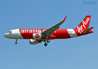 F-WWDC Airbus A320 Air Asia