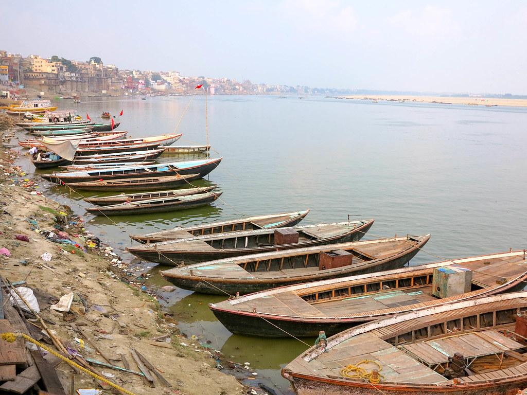 Paseo en barca por Varanasi