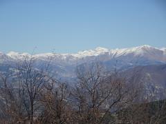 Vue du Mont Ours : Sommets du Mercantour