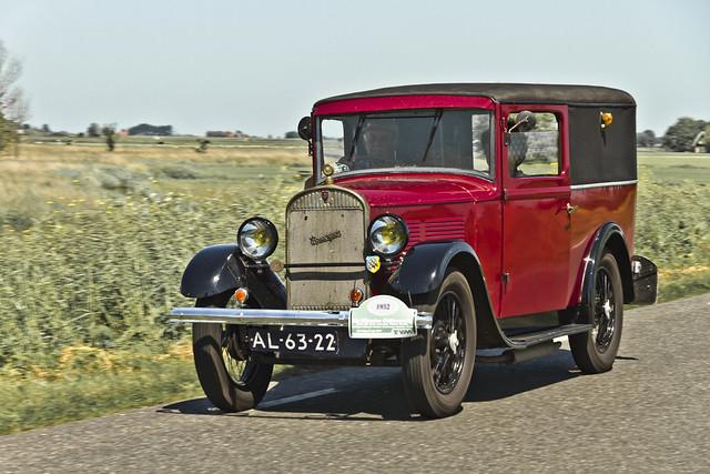 Rosengart LR44 Fourgon Tôlé 1932 (0560)