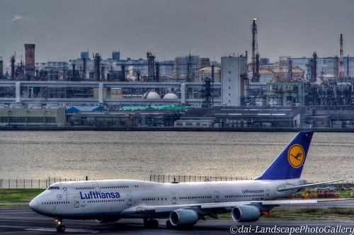 [HDR]ボーイング747~Lufthansa~