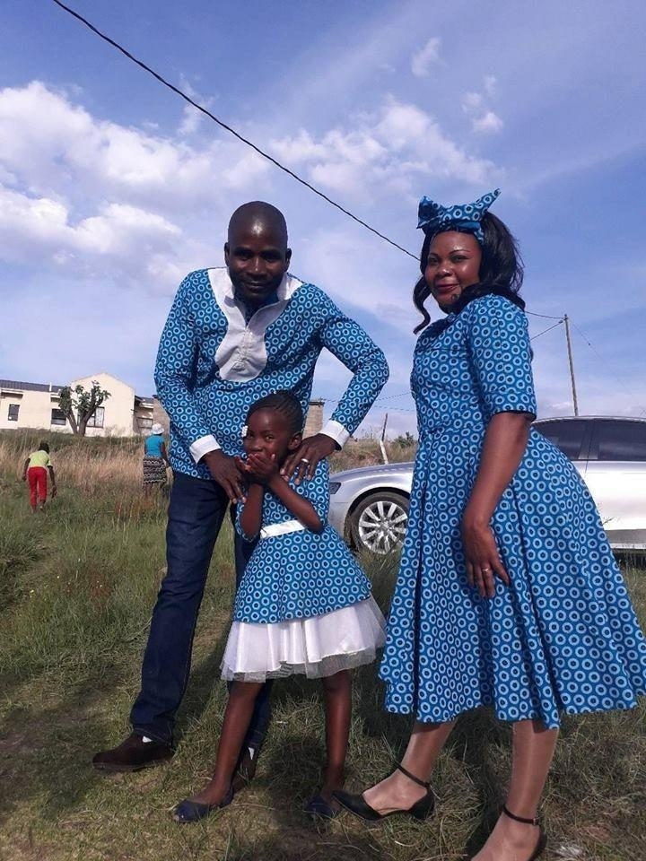 Shweshwe Dresses Colours
