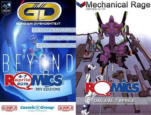 Romics Mechanical Rage V Gundam Dipendente