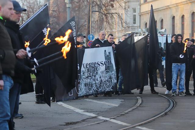 Neonazi-Trauermarsch Magdeburg