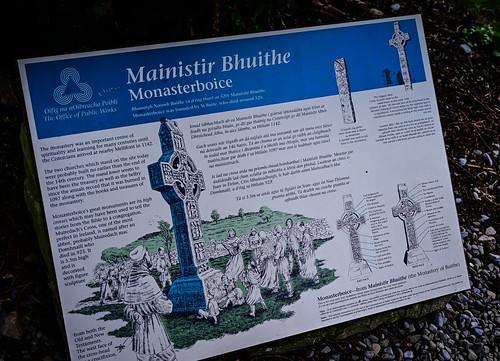 Mainistir Bhuithe Monasterboice - Monastery of Buithe (founded 520)