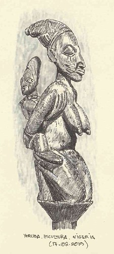 Escultura Yoruba. Nigeria