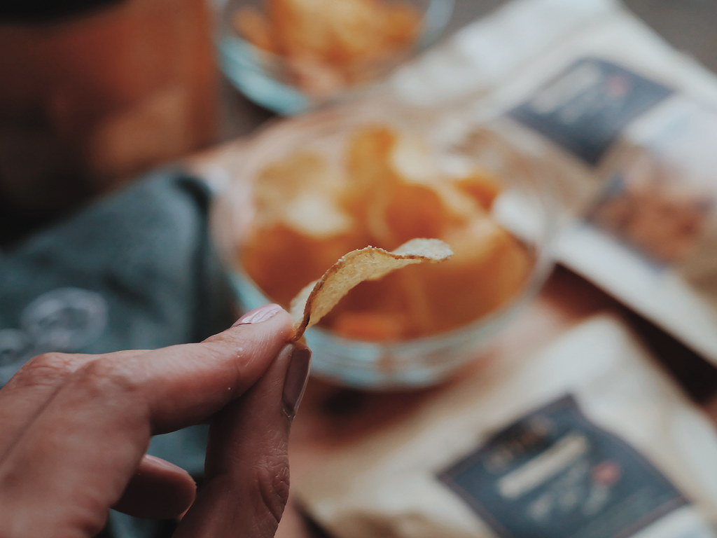 Crisps Gourmet Snacks Potato Chips in 10 Flavors