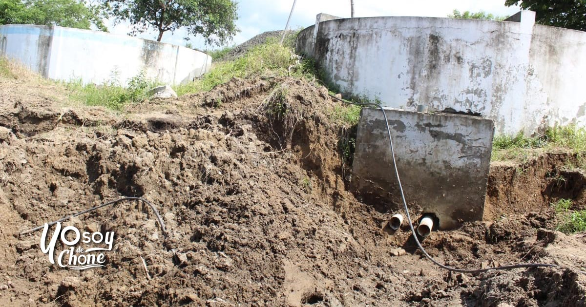 Hundimiento en Planta de Agua Potable de San Antonio