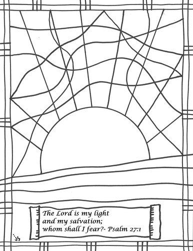 Lent, Ash Wednesday Coloring Page - | 500x386