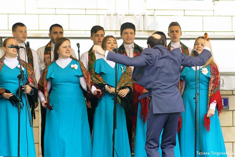 Выступление хора из Рыбинска