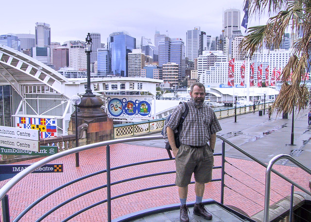 Me at Darling Harbour