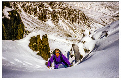 Crinkle Crags - Winter 1993
