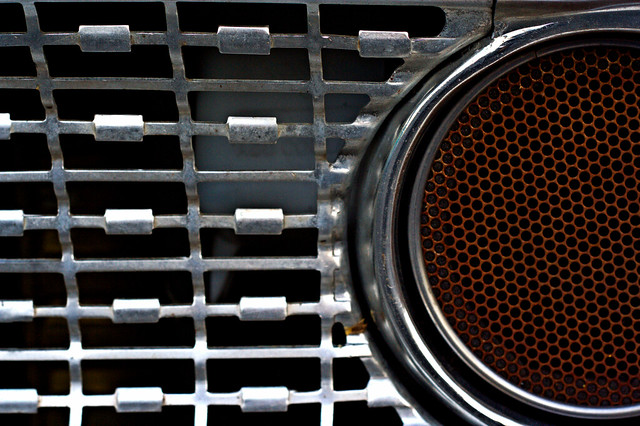 grille detail, Joe's Ford