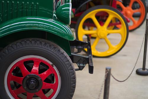 Wheel colours