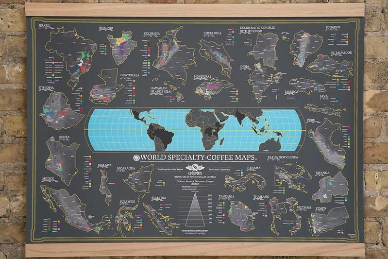 Bản đồ cà phê thế giới - World Coffee Map (1)
